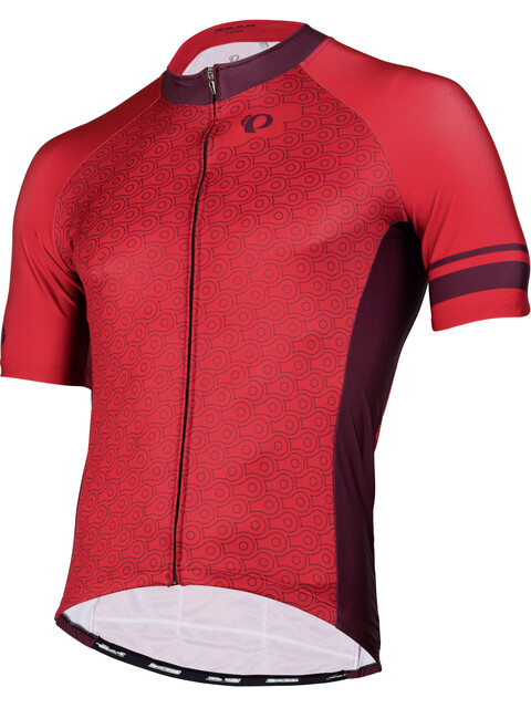 PEARL iZUMi Elite Pursuit LTD Short Sleeve Jersey Men chain rogue red/ port